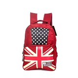YOUNG SOUL Ransel [A18-2087] - Red - Backpack Wanita